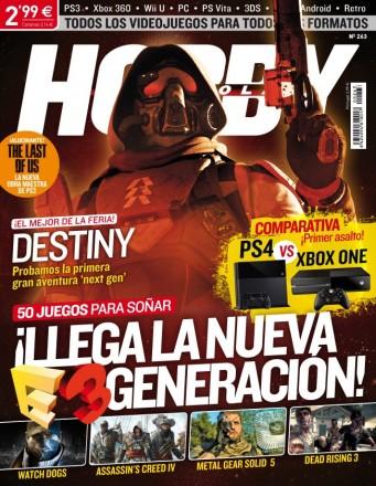 Hobby consolas nº263 Julio 2013 – Llega La Nueva E3 Generacion – PDF