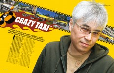 Crazy Taxi en Retro Gamer 9