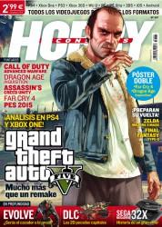 Portada GTA V en Hobby Consolas 281