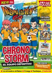 Revista Oficial Inazuma Eleven Go nº1