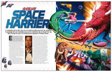 Reportaje Space Harrier