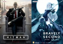 Póster doble Hitman - Bravely Second End Layer