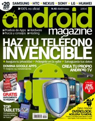 Nº 45 ANDROID MAGAZINE