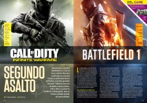 Reportaje Battlefield 1 vs Call of Duty Infinite Warfare
