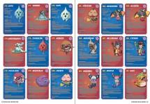 Fichas coleccionables con todos los Yo-kai