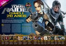 Reportaje aniversario de Tomb Raider