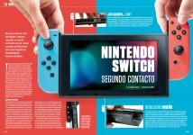Reportaje Segundo Contacto con Nintendo Switch en Hobby Consolas 308