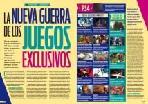Reportaje La nueva guerra de los juegos exclusivos en Hobby Consolas 308