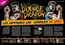Reportaje 30 años de Double Dragon en Hobby Consolas 308