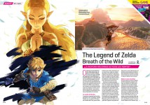Avance The Legend of Zelda Breath of the Wild en Hobby Consolas 308