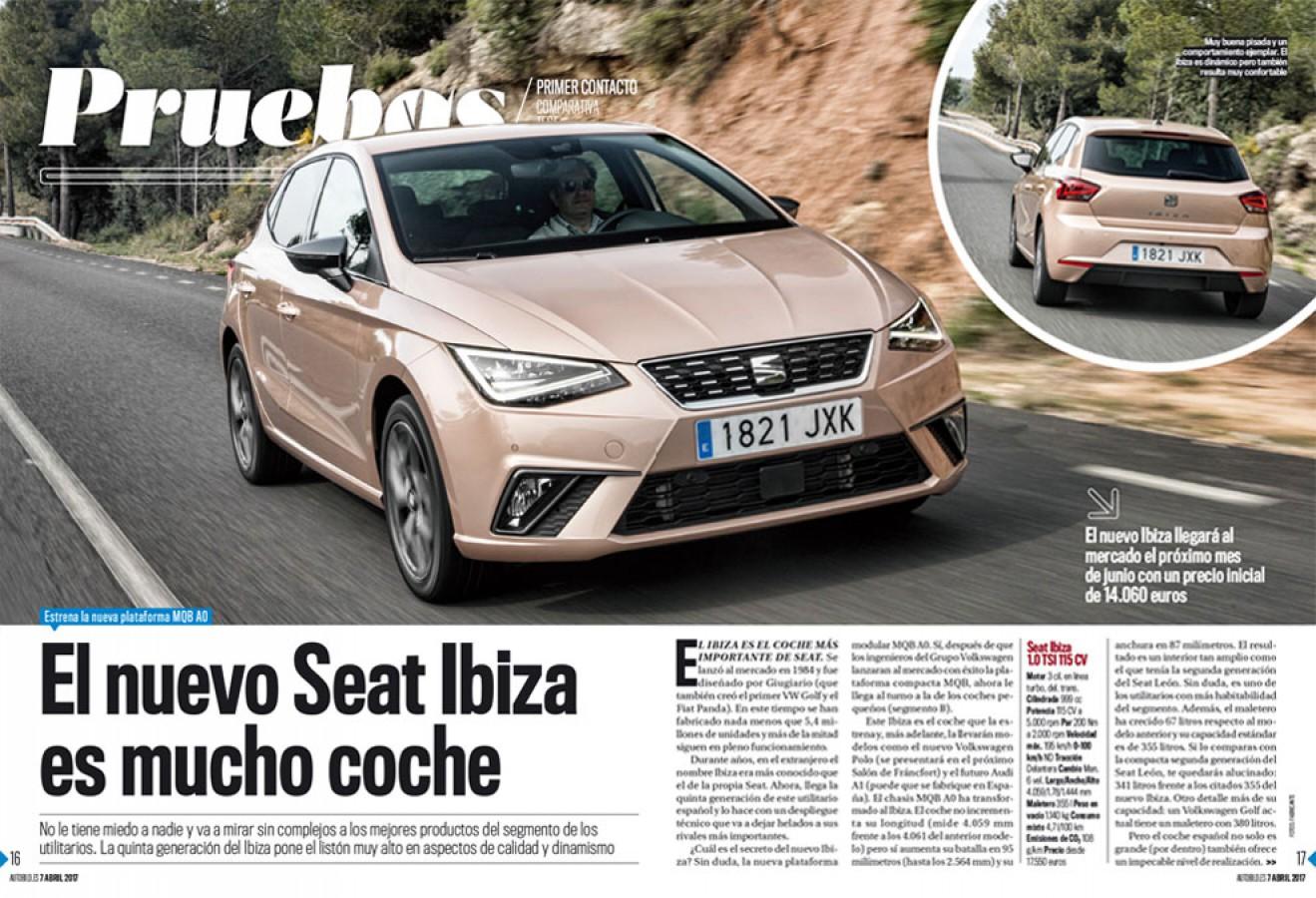 AUTO BILD ESPAÑA Revista-Número 530: Axel Springer