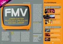 Reportaje Más de 30 años de juegos Full Motion Video en Hobby Consolas 310