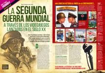 Reportaje La II Guerra Mundial a través de los videojuegos del siglo XX en Hobby Consolas 311