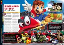 Reportaje E3 Super Mario Odissey en Hobby Consolas 312