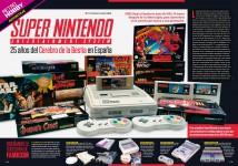 Reportaje 25 años de Super Nintendo en España en Hobby Consolas 312