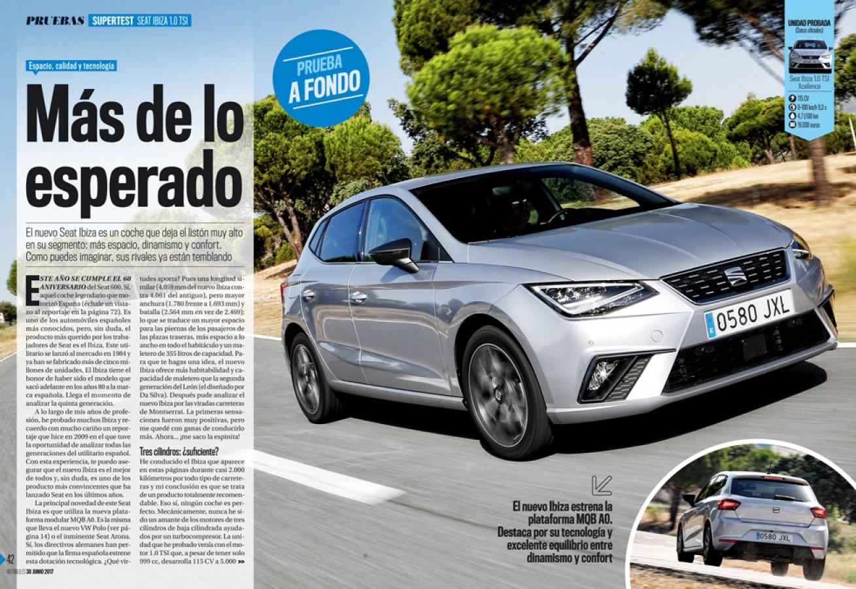 AUTO BILD ESPAÑA Revista-Número 536: Axel Springer