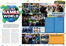 Reportaje Barcelona Games World en Hobby Consolas 313