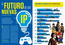 Reportaje El Futuro de las nuevas IPs en Hobby Consolas 313