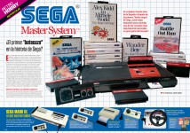 Reportaje 30 años de Master System en España en Hobby Consolas 313