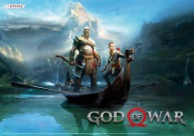 Póster God of War en Hobby Consolas 313