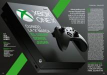 Reportaje Xbox One X en Hobby Consolas nº 315