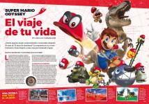 Reportaje Super Mario Odyssey en Hobby Consolas nº 315