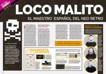 Reportaje Locomalito en Hobby Consolas nº 315