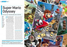 Análisis de Super Mario Odyssey en Hobby Consolas nº 316