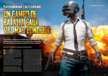 Reportaje Player Unknown's Battleground en Hobby Consolas nº 316