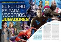 Reportaje El futuro es para vosotros, jugadores en Hobby Consolas nº 317