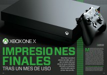 Reportaje Xbox One X: impresiones finales en Hobby Consolas nº 317