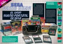 Reportaje Game Gear, el gran sueño portátil de Sega en Hobby Consolas nº 317