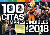 Reportaje Las 100 citas imprescindibles de 2018 en Hobby Consolas nº 318