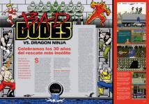 Reportaje Bad Dudes vs Dragon Ninja en Hobby Consolas nº 318
