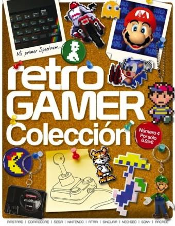 Retro Gamer Revista-Número 4- ED  COLECCIONISTA Axel Springer